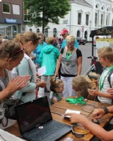 Solextour in Friesland